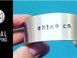 Stamped Bracelet or Rings