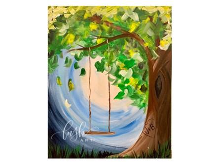 Tree Swing Paint Class