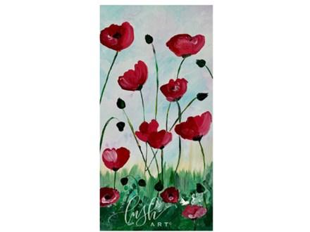 Poppies Paint Class