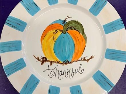 Pumpkin Platter Class - November 8th