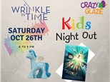 Ticket for Crazy Glaze Studio's Kids Night Out Oct 26th