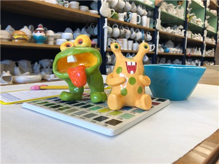 Magical Creatures and Monsters! - Clay Monsters