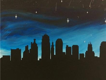KC Skyline - Paint & Sip - Dec 20