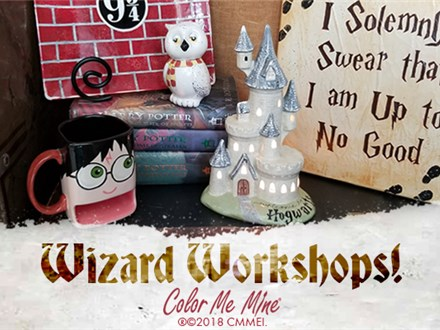 9 and 3/4 Plate - WITCHES & WIZARDS WEEK - JULY 25TH 2019