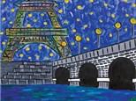 Canvas & Wine Night! An Evening in Paris! 6/19/18
