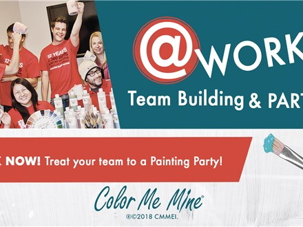 Office Party at Color Me Mine