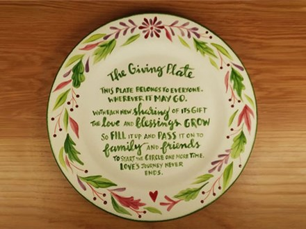 Adult Class: The Giving Plate - January 4 @ 6pm