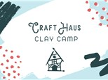 Half Day Clay Camp: 9am to 12pm