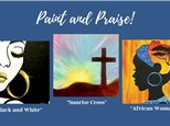 Paint and Praise at GTBC - June 26th (PRIVATE)