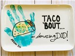 Taco Amazing Dad Plate