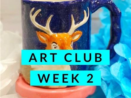 January Art Club Week 2