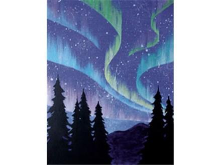 """Canvas & Cones """"Northern Lights"""""""