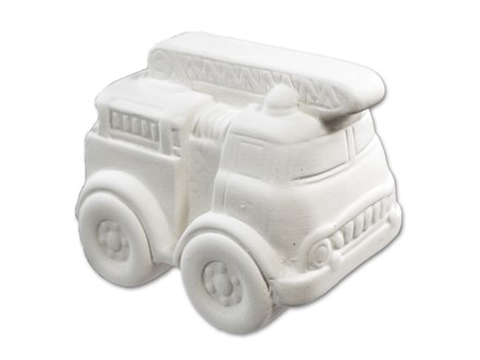 This charming little fire truck is perfect for the firefighter in your life!