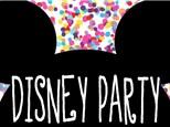 Disney Party: Summer Workshops - July 16-20