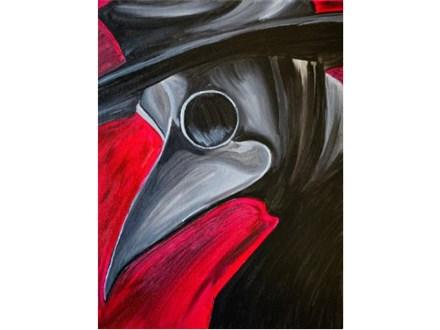 Plague Doctor Paint Class - Perry