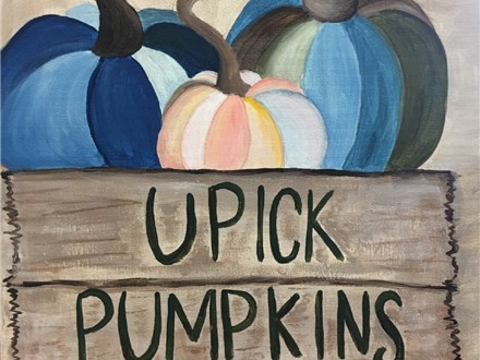 U-Pick Pumpkins Canvas Event