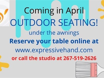 Reservation for OUTDOOR Seating