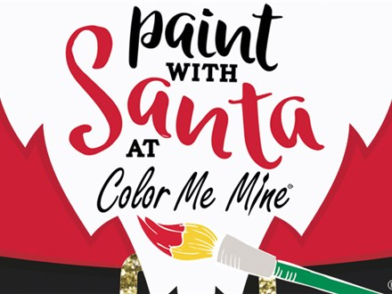 Paint with Santa - Saturday, December 7, 2019:  9:30AM-11:30AM