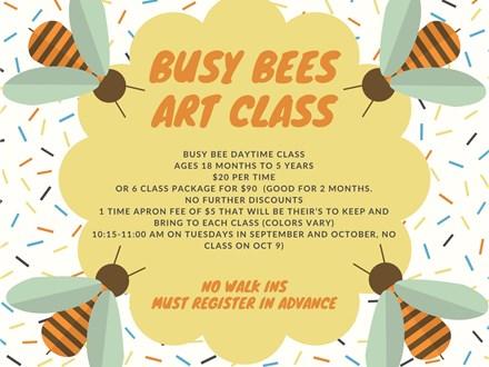 Busy Bee: Mixed Media