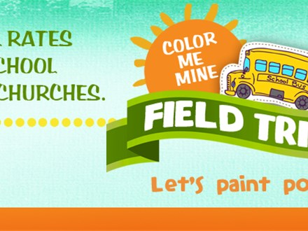 Kids Field Trip to Color Me Mine