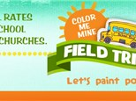 Kids Field Trip to Color Me Mine