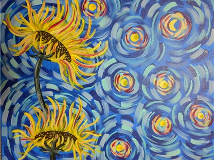 Sunflower Paint Night (Toni) 8/10 6-9PM