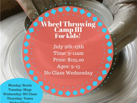 Kids Wheel Camp July