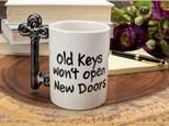 """""""Key To Success mug"""" To-Go Kit- at Color Me Mine - Aspen"""
