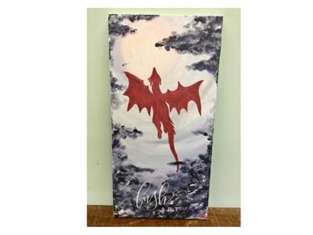 Dragon Paint Class @ Just Tap'd