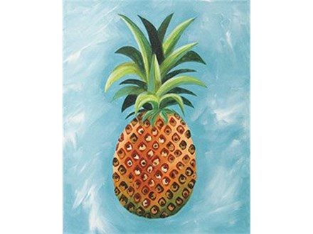 Adult Canvas - Pineapple - Evening Session - 06.07.19
