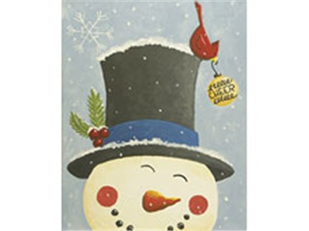 Spreading Cheer Canvas Paint Night  - 2 Dates to Choose from