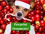 Pawprint Ornaments Fundraiser for Semper Fido - December 9th