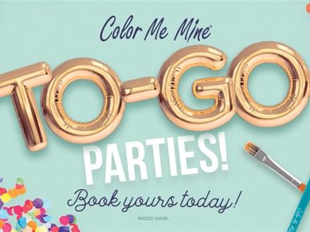 To-Go Party • Color Me Mine Littleton