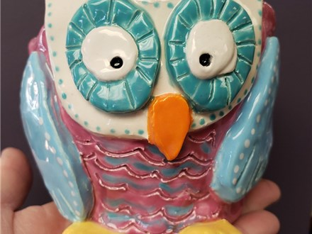 Art Club: Owl Container