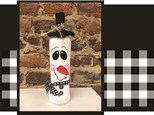 DIY Snowman Bottle