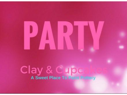 Wedding and Bridal Deposit at Clay and Cupcakes Grande Prairie