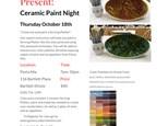 Pasta Mia Paint Night - Serving Platter