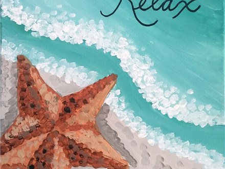 Adults - Relax Canvas Class