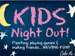 KID'S NIGHT OUT - BACK TO SCHOOL DESK SET - SEPTEMBER 21ST