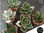 Stained Glass Succulents