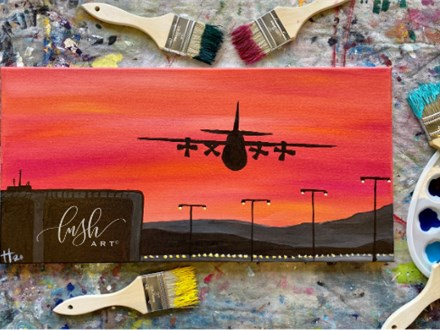 Airplane Paint Class