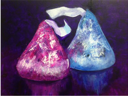 """Hershey's Kisses"" Group Party at Sketch Pad"