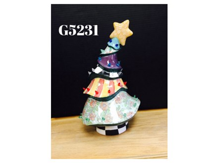 Vintage Ceramic Christmas Tree Painting Party - Dec 13th, 2019