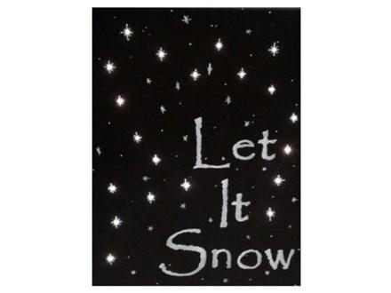 Let It Snow, a lighted canvas - Paint & Sip - Jan 5