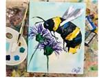Bee Virtual Paint Class