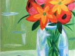 Rustic Bouquet Canvas Painting Workshop - Friday, April 20th
