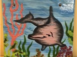 Single Day Workshop - Dolphin Plaque - June 18