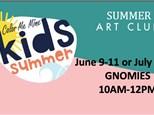 Gnomies Art Camp  7/14-7/16