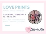 Memory Makers: Love Heart Prints - February 1st