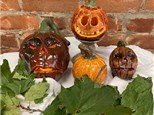 Make Your Own Clay Pumpkin! Oct. 1 @ 6:30 pm, * OR * Oct. 3 @ 10 am